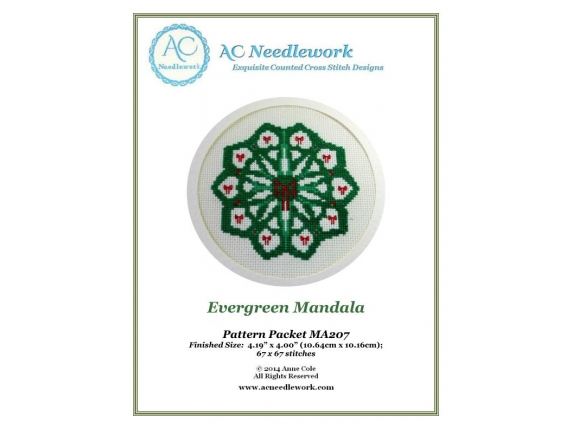 cover page evergreen mandala