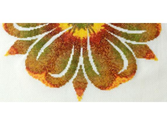 outer petals sunflower mandala