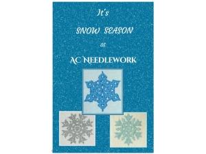 2017 -  It's Snow Season at AC Needlework