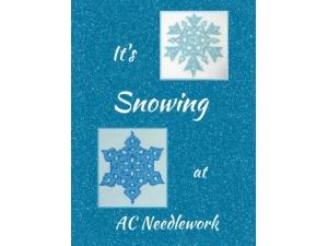 2016 - It's Snowing At AC Needlework