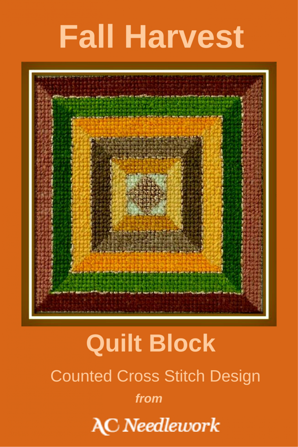 Celebrate Fall By Cross Stitching This Fall Harvest Quilt