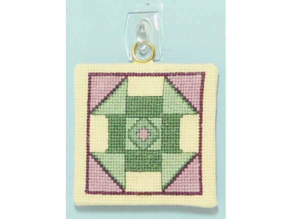 Churn Dash Quilt Block  $3.00