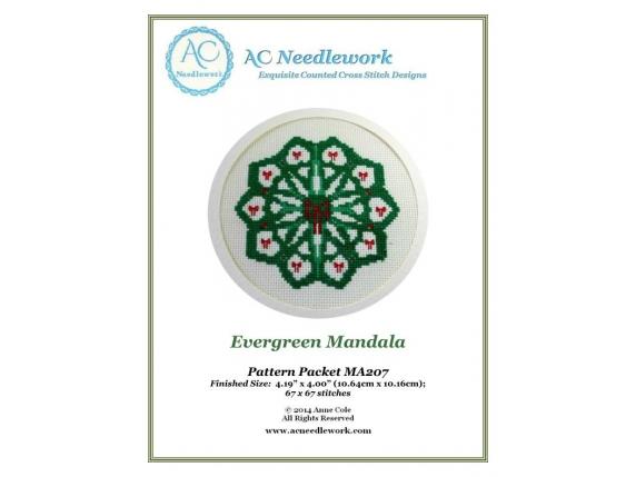 cover page evergreen mandala