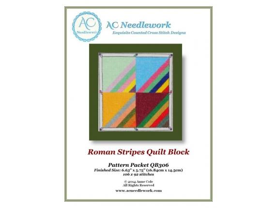 pattern cover roman stripes