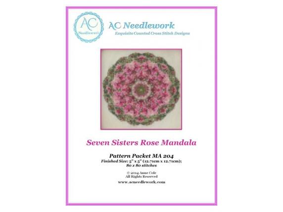 pattern cover rose mandala