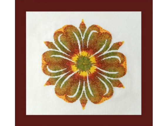 Sunflower Mandala  $10.00