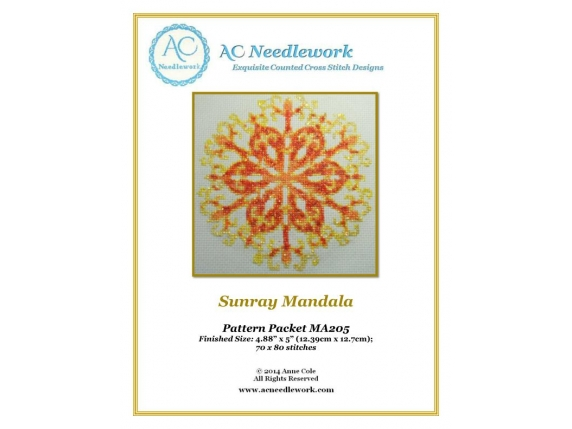 pattern cover sunray mandala