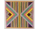 Stripes and Triangles Quilt Block Counted Cross Stitch Patten