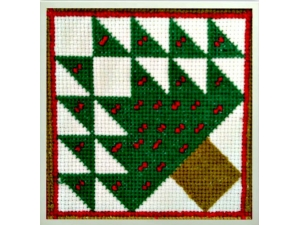 Christmas Tree Quilt Block  $3.00