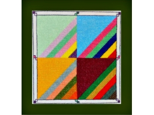 Roman Stripes Quilt Block  $7.00