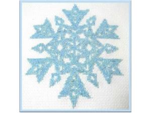 Crystal Blue Snowflake  $6.00