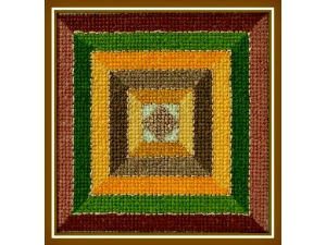 Fall Harvest Quilt Block   $3.00