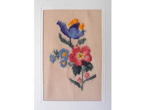 card view floral bouquet $3.00