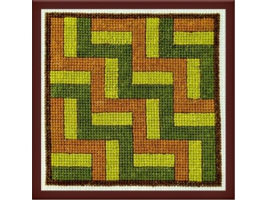 Rail Quilt Fence Block  $5.00