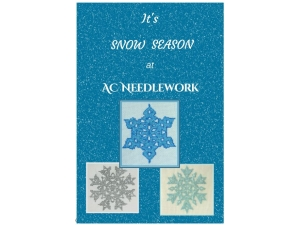 2017 -  It's Snow Season at AC Needlework