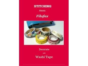 2016 - Stitching Meets Filofax - Using Washi Tape