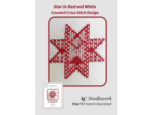 Star in Red and White