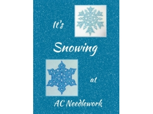 2016 - It's Snowing At AC Needlework